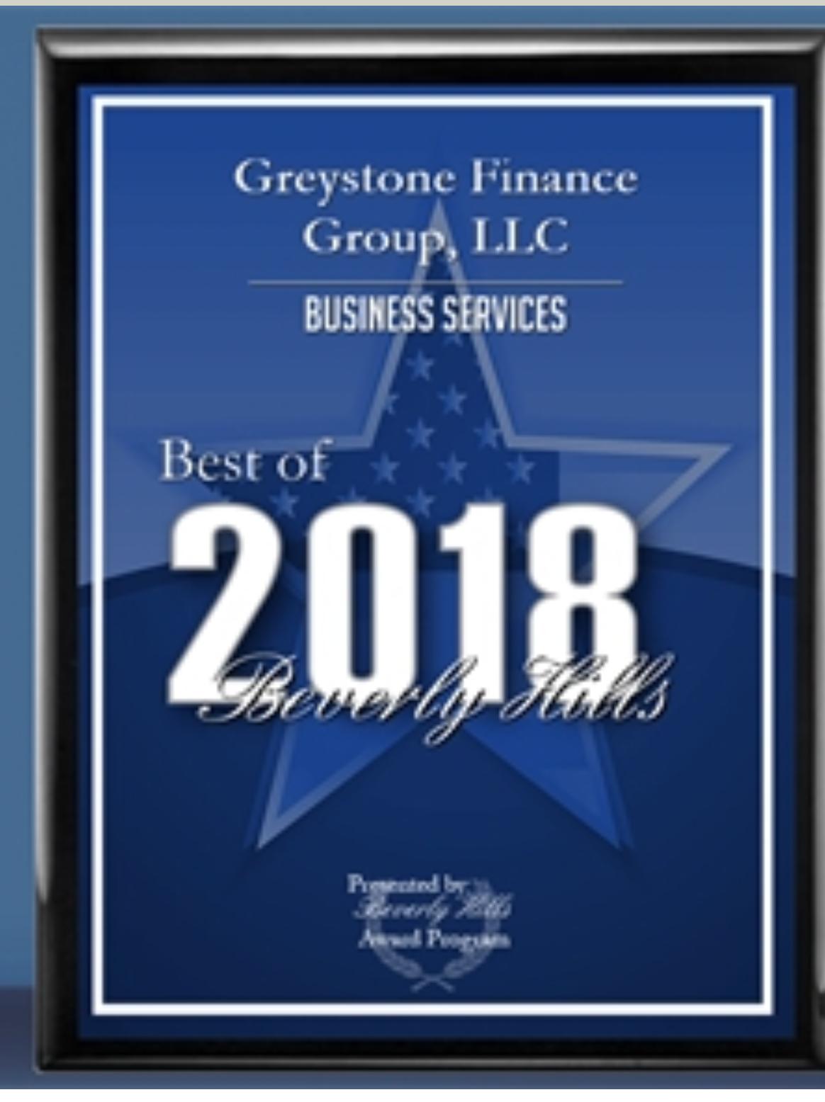 greystone best of award